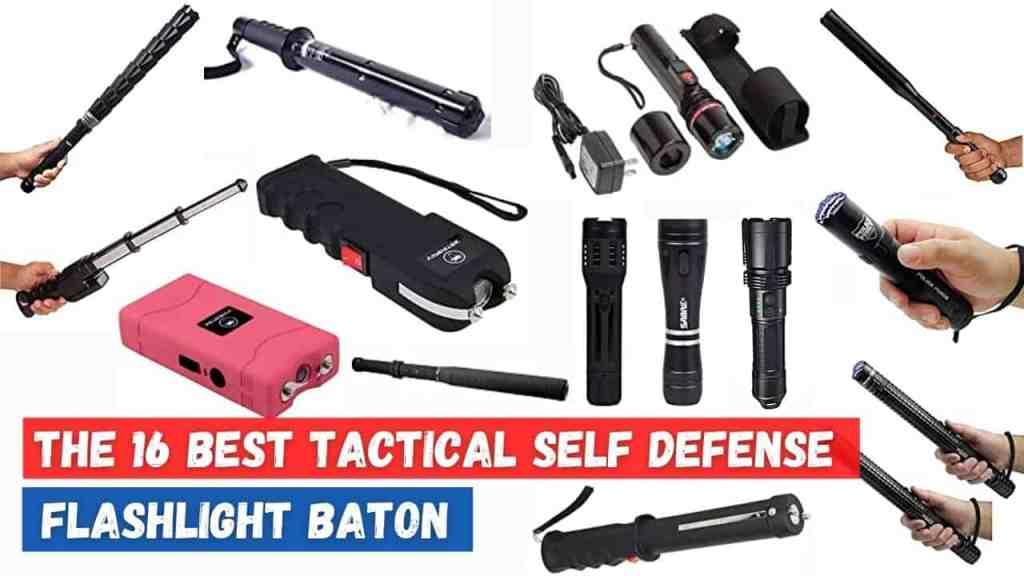 best self defense flashlight baton USA