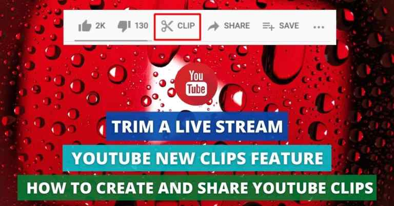 youtube new clips feature