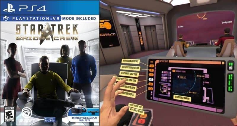 Star Trek: Bridge Crew - Best VR Games of All Time Ever to Play Now
