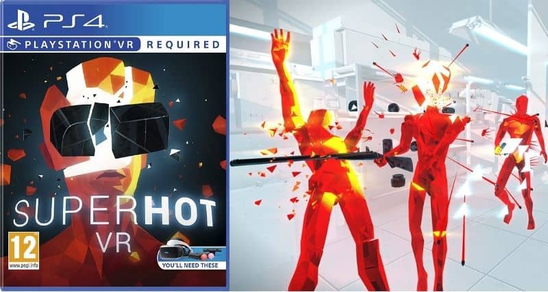 superhot - Best VR Games of All Time Ever to Play Now