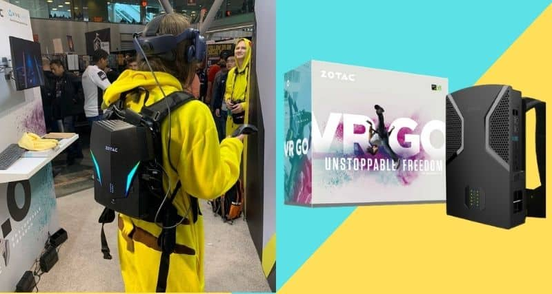 Zotac VR Go Backpack pc review & price