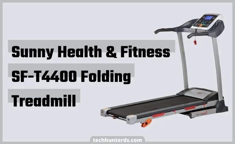 Sunny Health & Fitness SF-T4400 Folding Treadmill