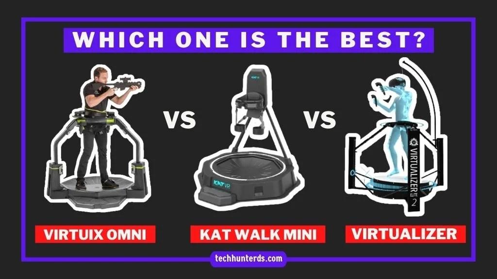 Best VR Treadmills Review: KAT Walk Mini vs Cyberith Virtualizer Elite 2 vs Virtuix Omni