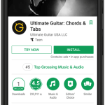Ultimate Guitar takes advantage of 10MB limit for instant apps and improves install rate by 8%