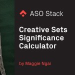 Creative Sets Results Calculator for Apple Search Ads