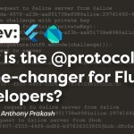 Why is the @protocol a game-changer for Flutter developers?