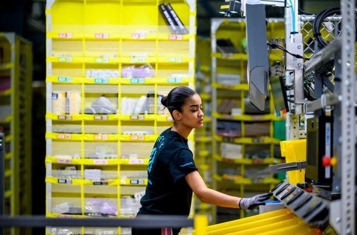 Amazon ramps 100,000 jobs