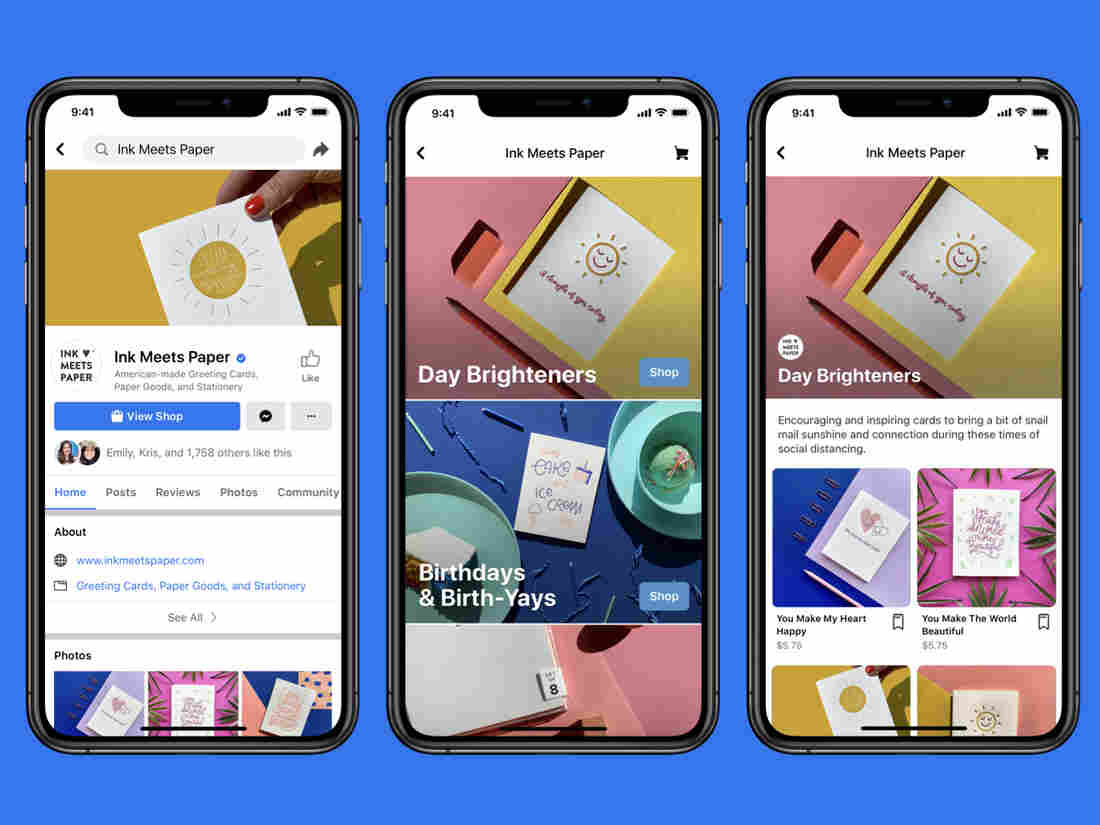Facebook launches and unveils Facebook Shops For small business