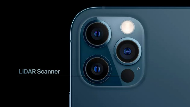 Lidar, Smart HDR 3 and a new camera