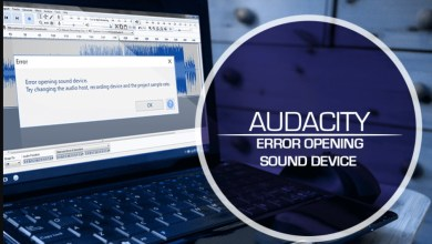 Photo of Audacity Error Opening Sound Device – How To Fix