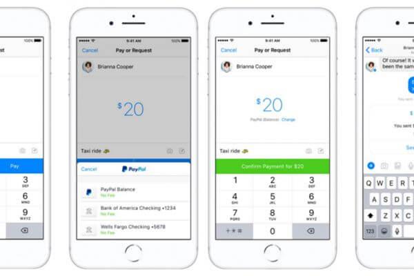 Mengirim dan Menerima Uang PayPal Melalui Messenger