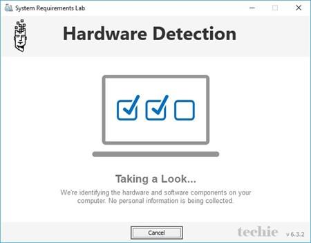Hardware Detection dari Can You Run It