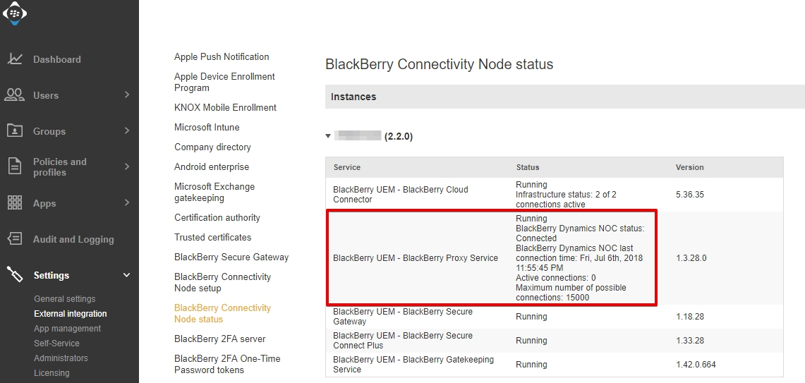 Implement Blackberry Unified Endpoint Manager (UEM) Cloud