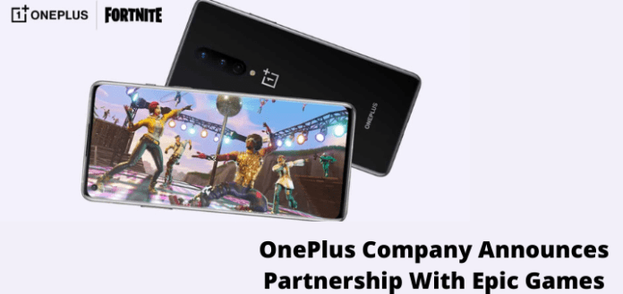 OnePlus Company Announces Partnership With Epic Games