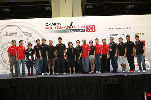 Group Shot of Canon PhotoMarathon XI Winners