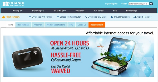 Review: Changi Recommends Overseas WiFi Router | TechieLobang