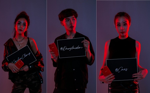 oppo-red-r11-celebrities