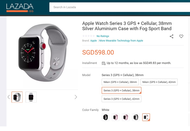 d9247fa2c05 That means if you have this Apple Watch 3, you can make or receive calls  without the Apple iPhone. And if you pair it with Apple Airpod, you can  really ...