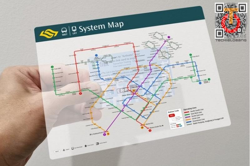 Display the Singapore MRT Map in AR with Your EZ-Link Card ... on map code, map label, map of bern and dreilinden, map pen, map color, map of croom motorcycle area, map button, map frame, map table, map beach, map list, map plastic, map craft,