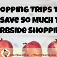 Curbside Shopping That Saves So Much Time. Shopping Smart