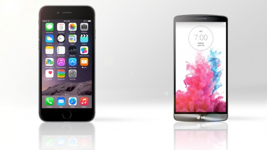 LG G3 vs Apple iPhone 6 Plus