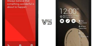 asus zenfone4 vs xiaomi redmi note comparison