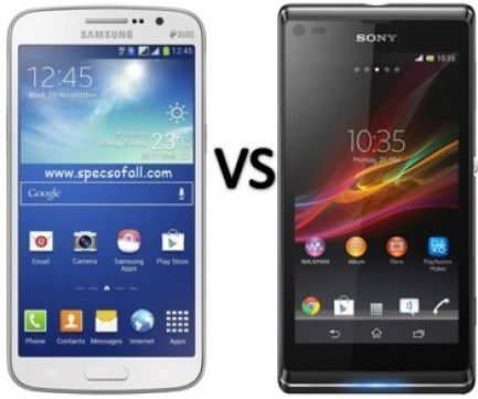 Sony Experia C3 vs Samsung Grand 2 comparison