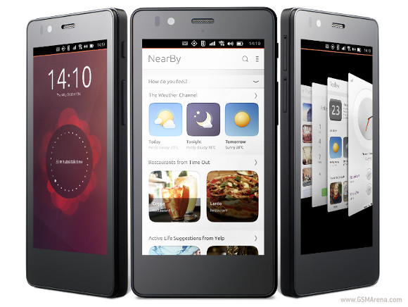 Ubuntu BQ Aquaris E4.5 Specifications