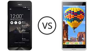 intex aqua star HD vs asus zenfone 5