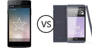 HTC Desire 816 vs Oppo Find 5 mini