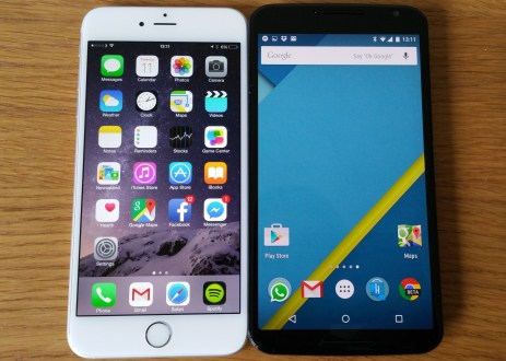 Iphone 6 Plus vs Nexus 6 comparison