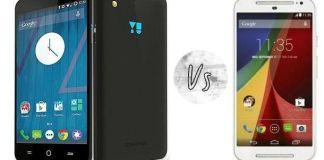 Micromax Yu Yureka vs Moto G 2nd gen