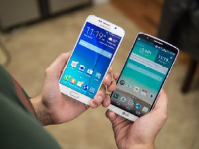 Samsung Galaxy S6 vs LG G3 comparison