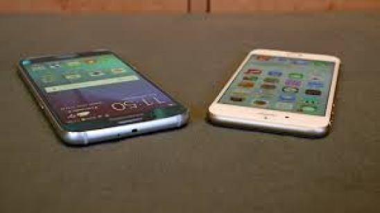 Samsung Galaxy S6 Edge vs Iphone 6 comparison