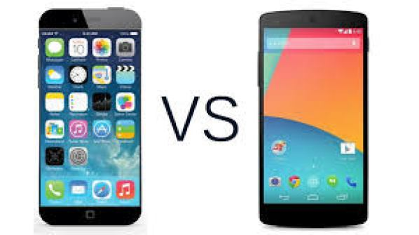 Apple Iphone 6 vs Google Nexus 6 comparison