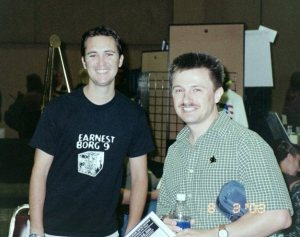 Michael Srock pictured here with Will Wheaton