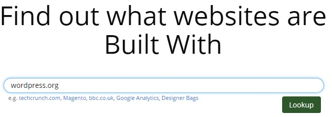 builtwith(1)