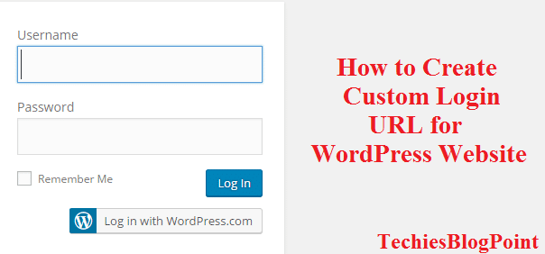 Custom Login URL for WordPress