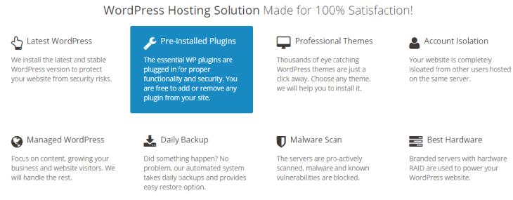 Features of MilesWeb
