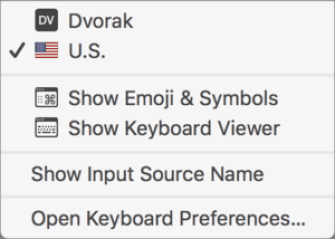 Show Keyboard Viewer
