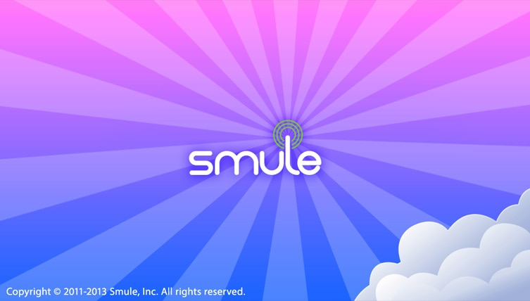 The Smule app suite
