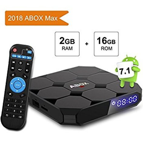 Abox Android TV (Android 7.1, 2018 version)