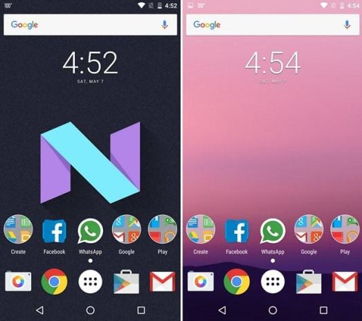 Android N Theme