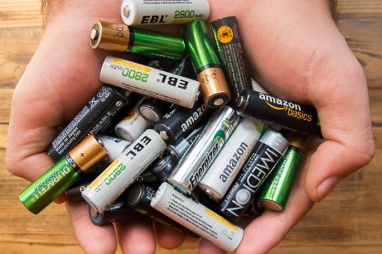 How to dispose of dead AA or AAA batteries