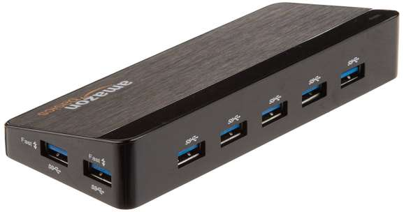 AmazonBasics 10 Port usb