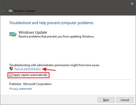 Stop Windows Update Getting Stuck