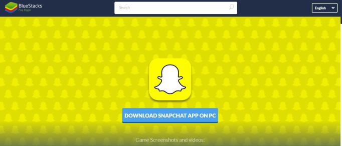 snapchat on pc