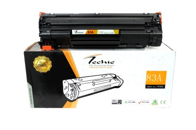 Techie 83A Compatible Toner / Cartridge for HP Laserjet Pro MFP M127fn / MFP M127fw Models.