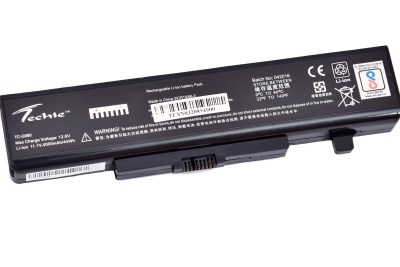 Techie Compatible for Lenovo G480, G485, G585, G580, Y480, Y480N Laptop battery.