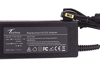 Techie 45W 20V 2.25A USB PIN compatible Lenovo Laptop Charger.